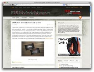 BNI Modesto Nooners Website