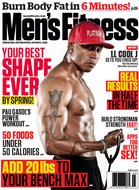 Mens Fitness Magazine March 2011