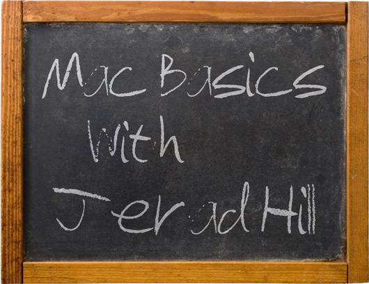 Mac Basics with Jerad Hill
