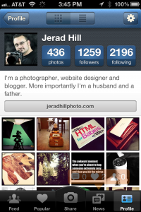 Jerad Hill on Instagram