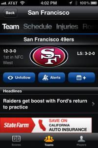 ScoreMobile for iPhone