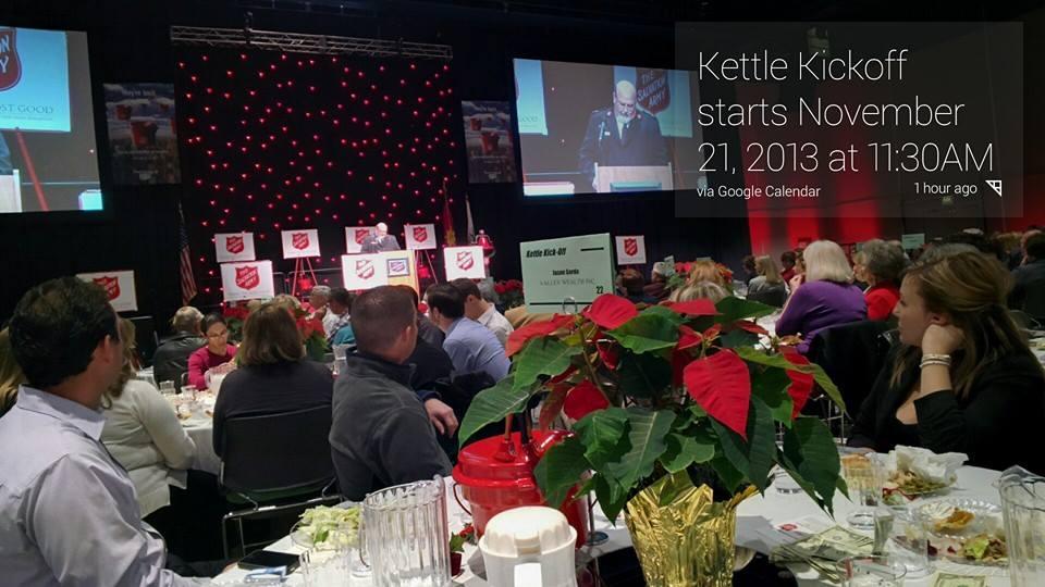 Salvation Army Kettle Kickoff 2013 Modesto #ThroughGlass