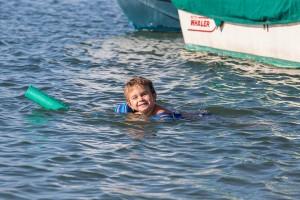 Swimming - Newport Bay - Newport Beach 2014