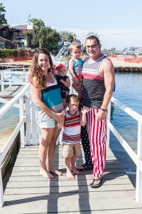 Hill Family Newport Beach 4th of July