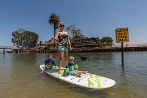 Paddle Boarding in Newport - Balboa Island