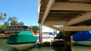 Newport Beach House Dock
