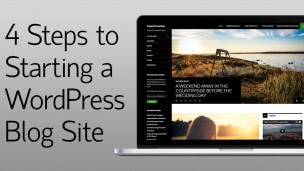 4 Steps to Starting a Wordpress Blog Website