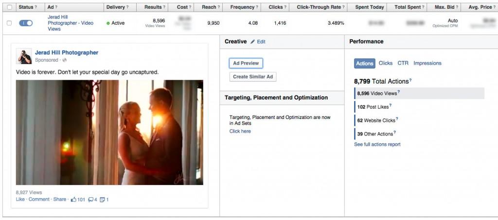 Facebook Video Ad View Analytics