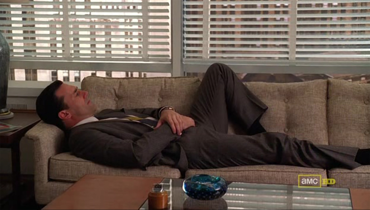 Don Draper Takes A Nap